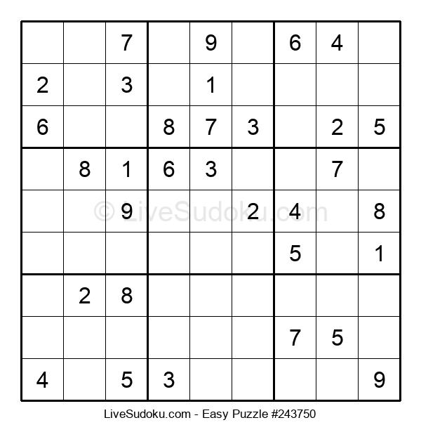Beginners Puzzle #243750
