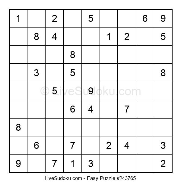 Beginners Puzzle #243765