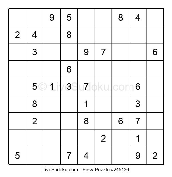 Beginners Puzzle #245136