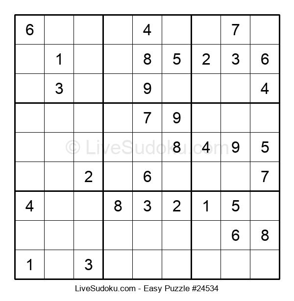 Beginners Puzzle #24534