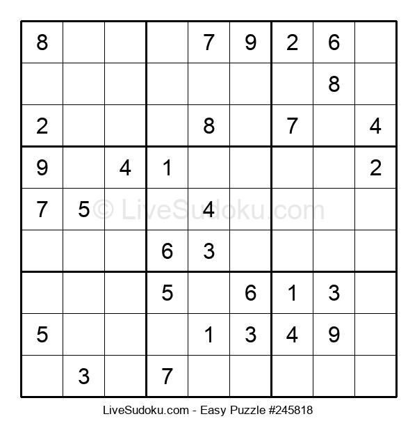 Beginners Puzzle #245818