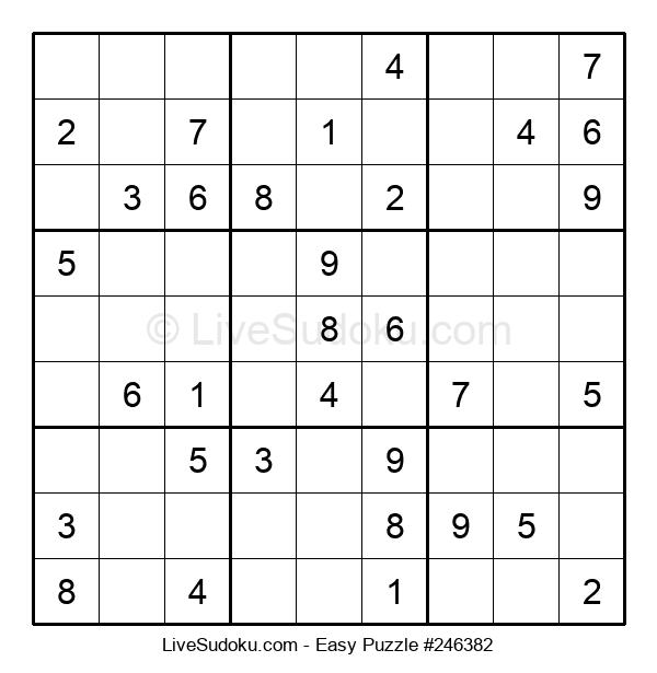 Beginners Puzzle #246382