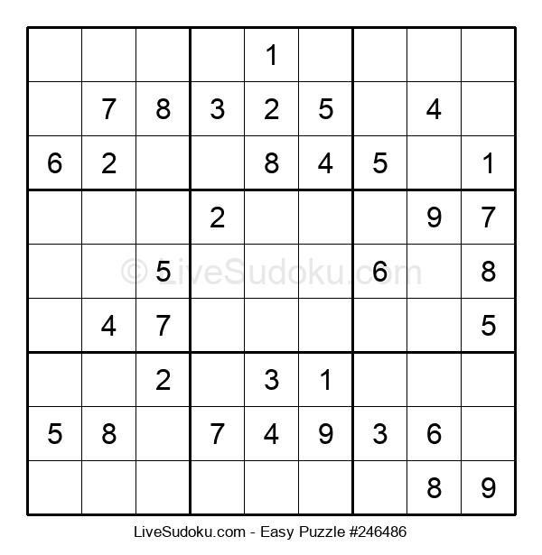 Beginners Puzzle #246486