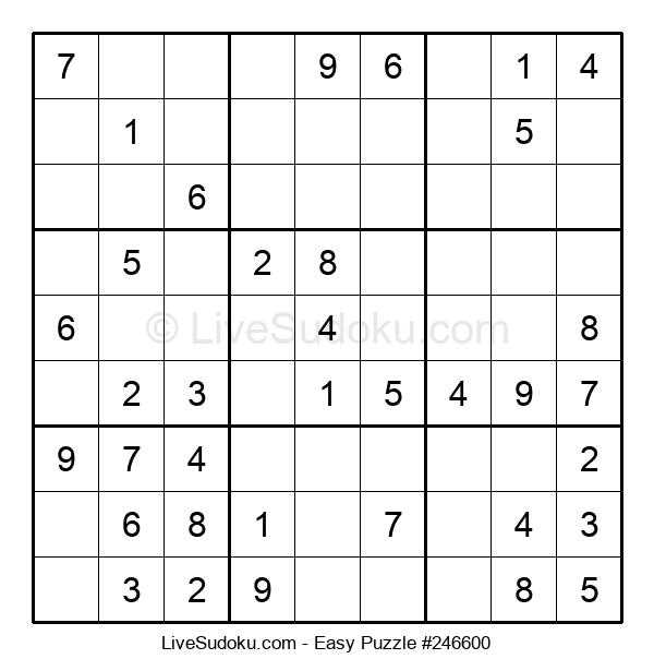 Beginners Puzzle #246600