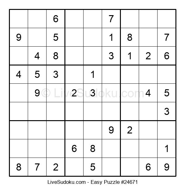 Beginners Puzzle #24671