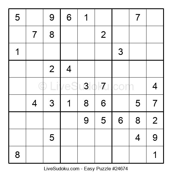 Beginners Puzzle #24674