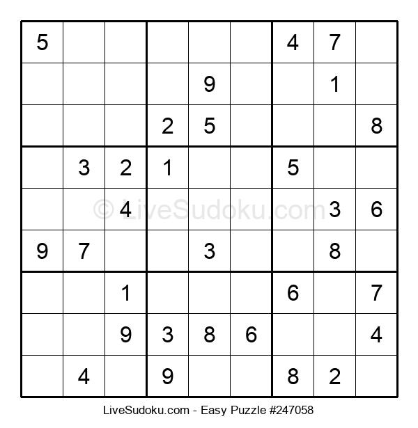 Beginners Puzzle #247058