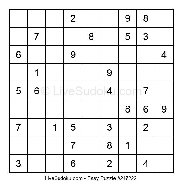 Beginners Puzzle #247222