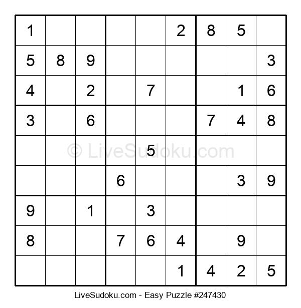 Beginners Puzzle #247430