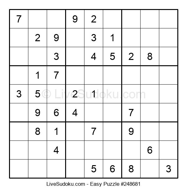 Beginners Puzzle #248681