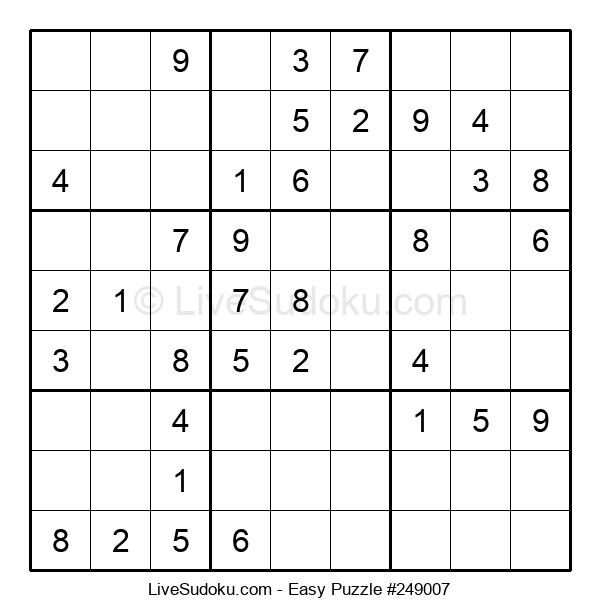 Beginners Puzzle #249007
