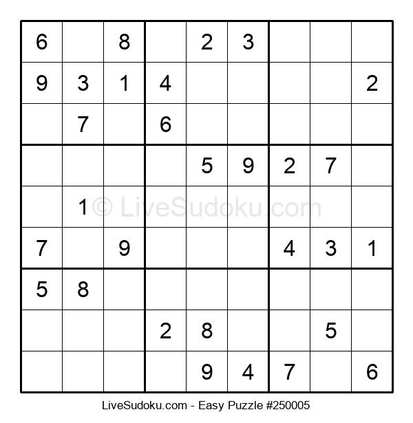 Beginners Puzzle #250005