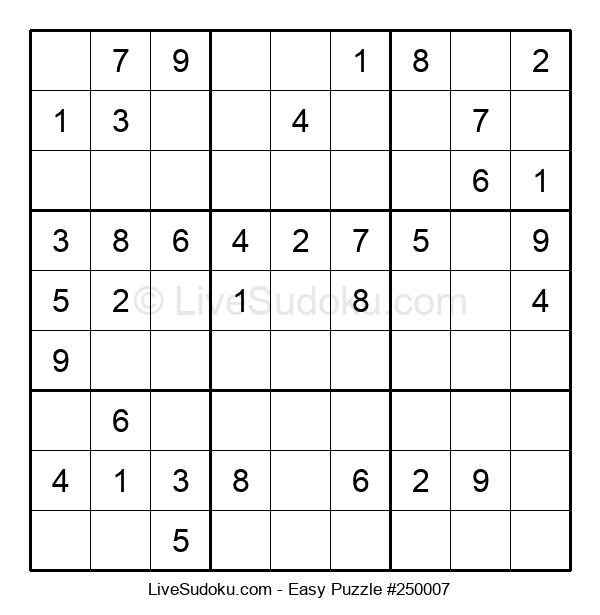 Beginners Puzzle #250007