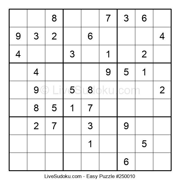 Beginners Puzzle #250010