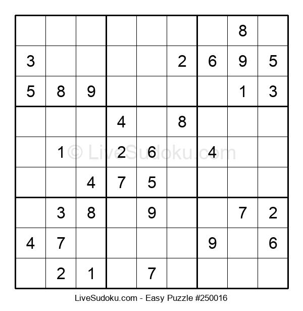 Beginners Puzzle #250016