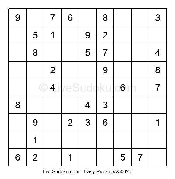 Beginners Puzzle #250025