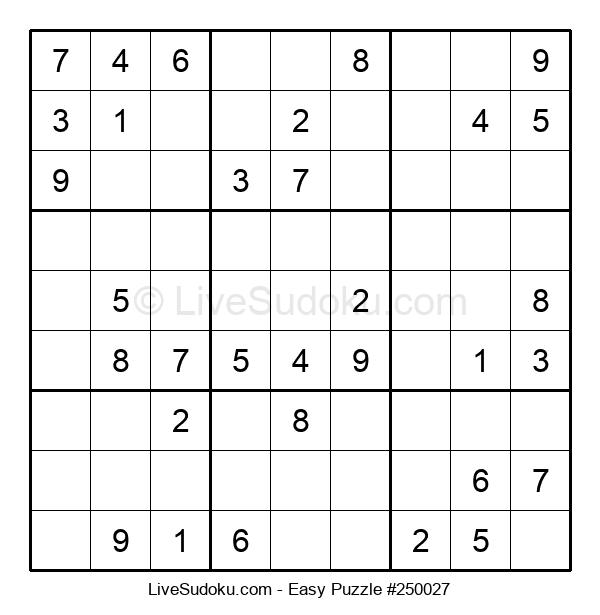 Beginners Puzzle #250027