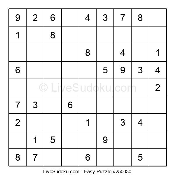 Beginners Puzzle #250030