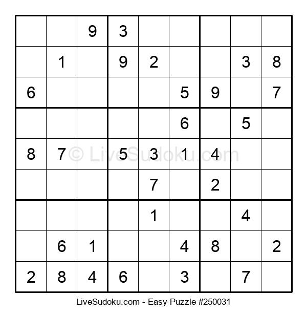 Beginners Puzzle #250031