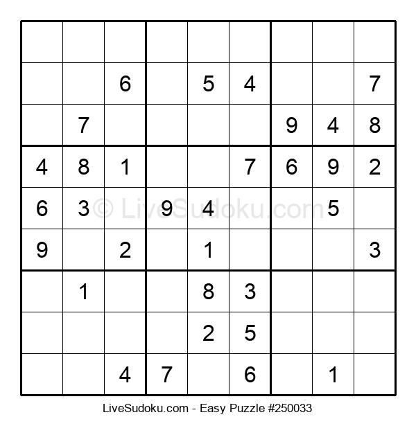 Beginners Puzzle #250033