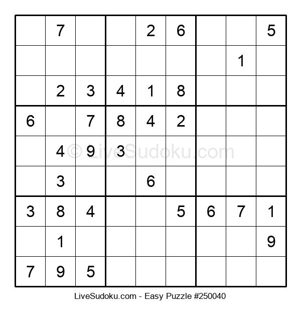 Beginners Puzzle #250040