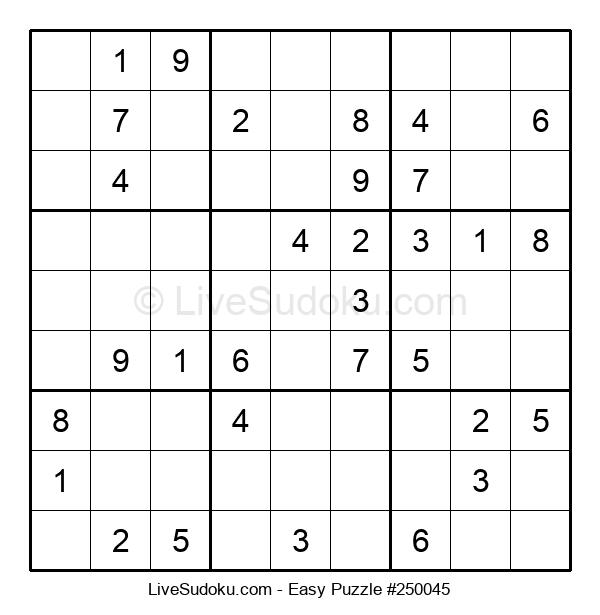 Beginners Puzzle #250045