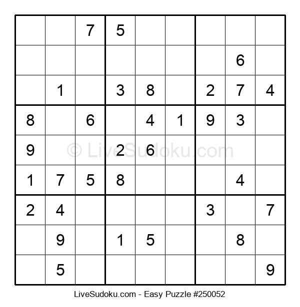 Beginners Puzzle #250052