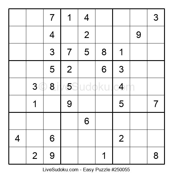 Beginners Puzzle #250055