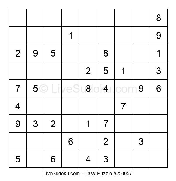 Beginners Puzzle #250057