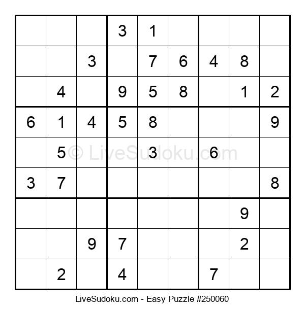Beginners Puzzle #250060
