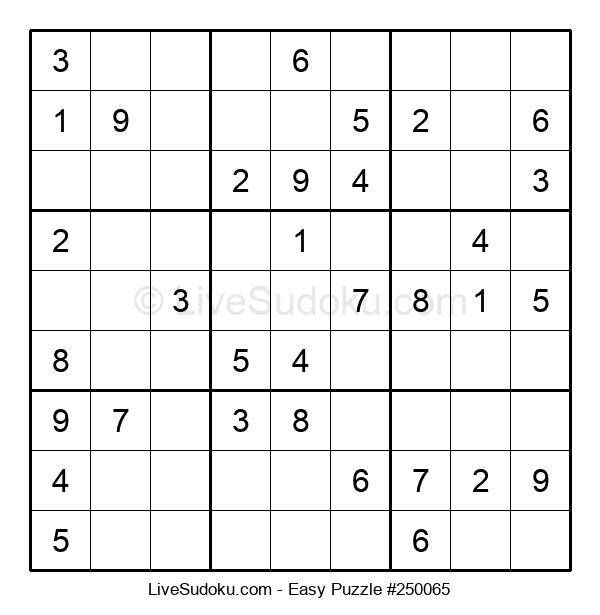 Beginners Puzzle #250065