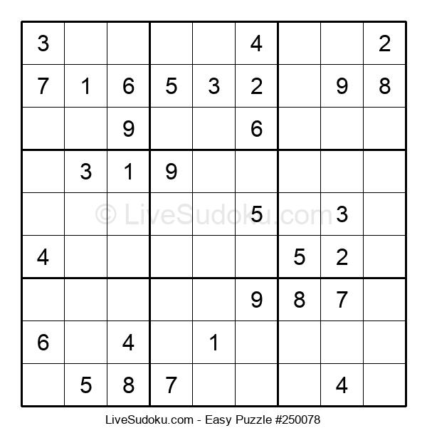 Beginners Puzzle #250078