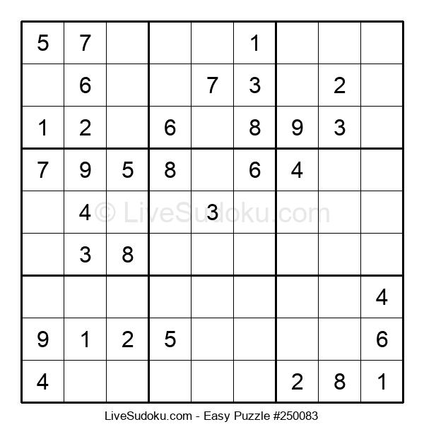 Beginners Puzzle #250083