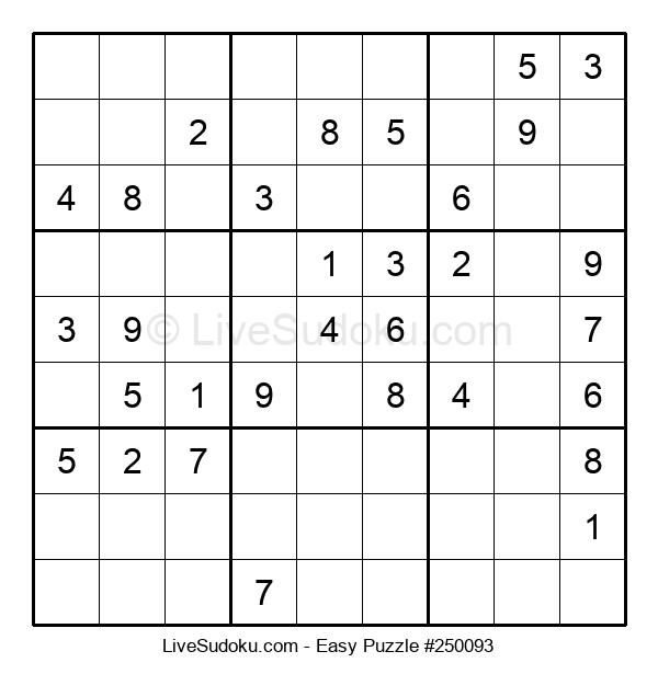 Beginners Puzzle #250093
