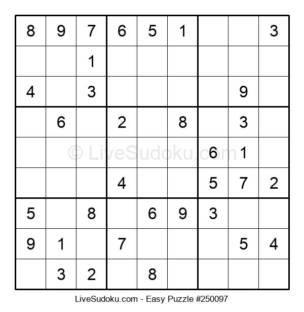 Beginners Puzzle #250097