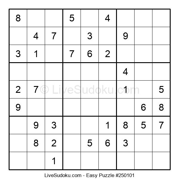 Beginners Puzzle #250101
