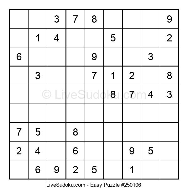 Beginners Puzzle #250106