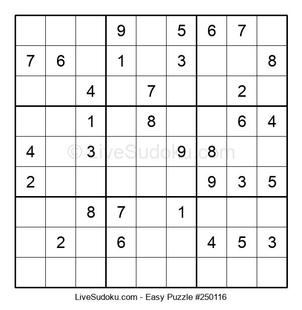 Beginners Puzzle #250116