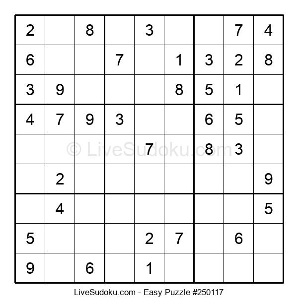 Beginners Puzzle #250117