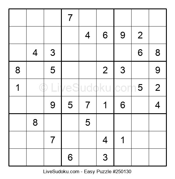 Beginners Puzzle #250130