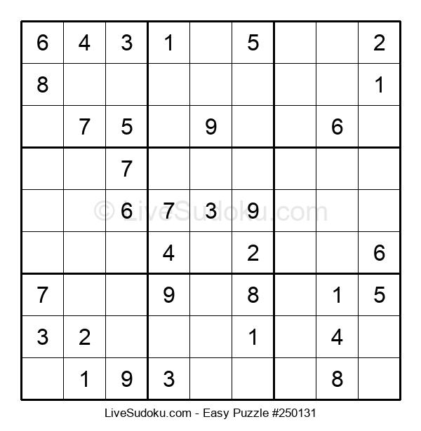 Beginners Puzzle #250131