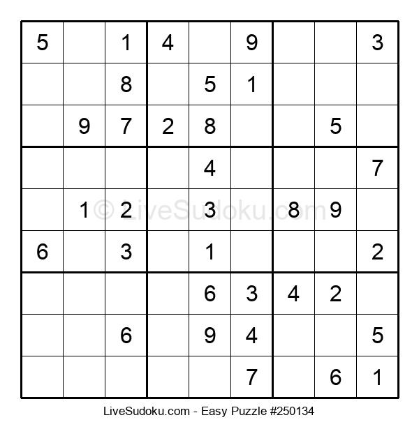 Beginners Puzzle #250134