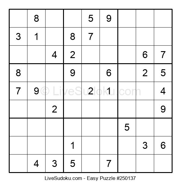 Beginners Puzzle #250137