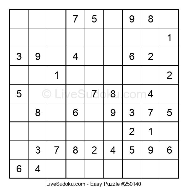 Beginners Puzzle #250140