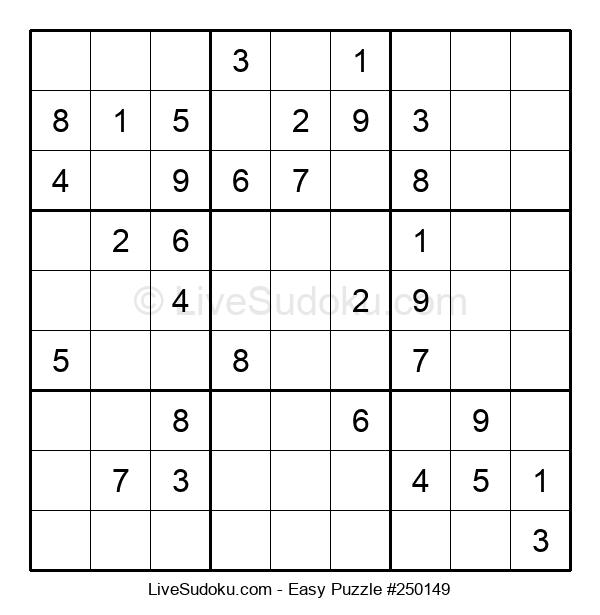Beginners Puzzle #250149