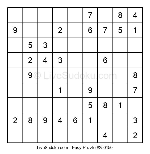 Beginners Puzzle #250150