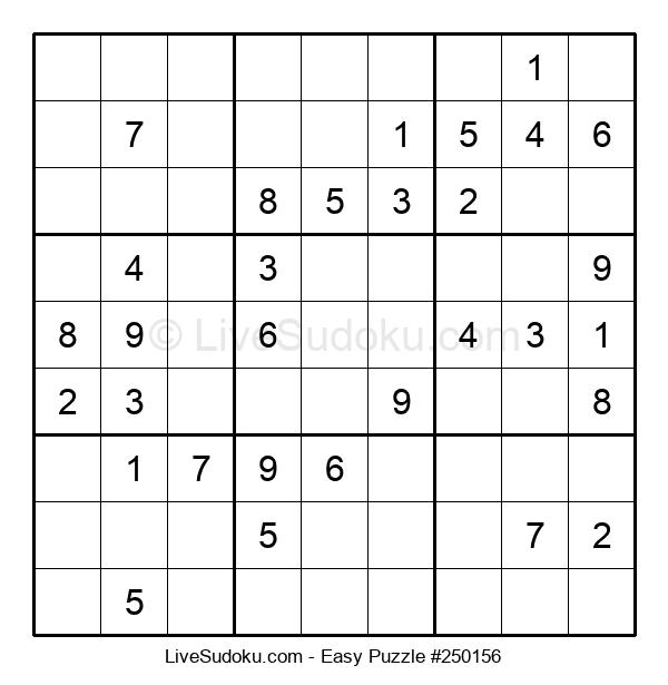 Beginners Puzzle #250156