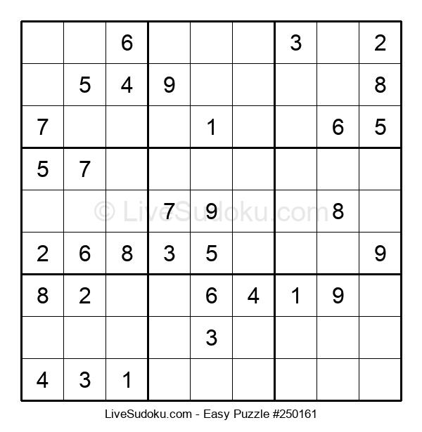 Beginners Puzzle #250161