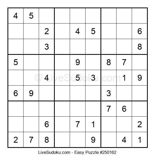 Beginners Puzzle #250162