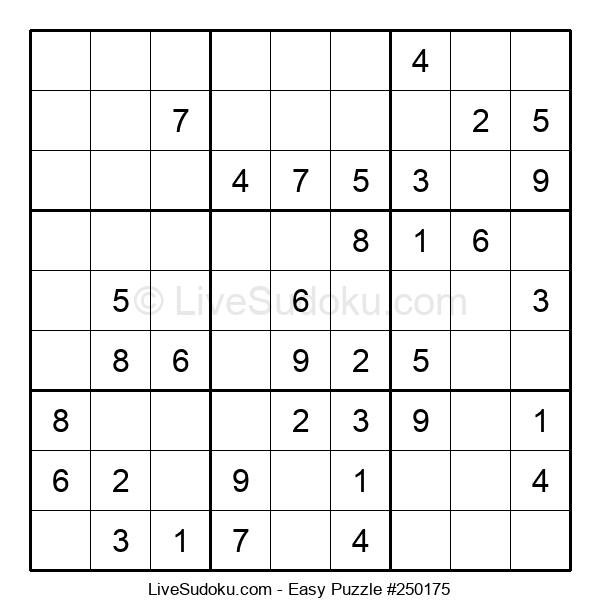 Beginners Puzzle #250175